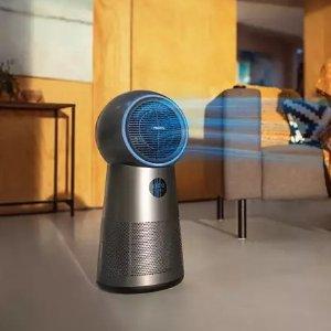 Philips冷/热风+净化病毒、过敏原和污染物三合一空气净化器
