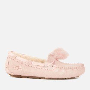 UGG粉色毛毛鞋