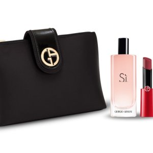 85折起+买就送封面大礼包Giorgio Armani 美妆热卖赠好礼  收即将停产单品的最后机会