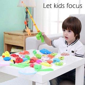 $14.98(原价$23.98)CozyBomB 磁力趣味钓鱼玩具套装,适合3岁+宝宝