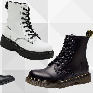 新品7.8折+活动区5折起Dr. Martens 全线有活动 热门款均参加 收经典1460短靴