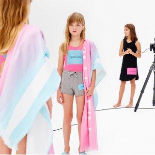包臀衫五件$14.3 低门槛包邮Calvin Klein官网 儿童内衣、服饰七月黑五低至2.1折超值热卖