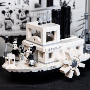 $119.99补货:LEGO 米奇威利船长蒸汽船 官方已标稀有标签
