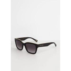 Marc Jacobs黑色方框墨镜