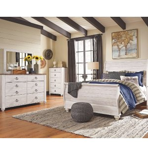 Willowton 5-Piece Queen Master Bedroom