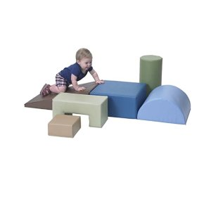 Children's Factory Climb & Play 6 Piece Set for Toddlers