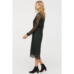 H&MCalf-length Lace Dress