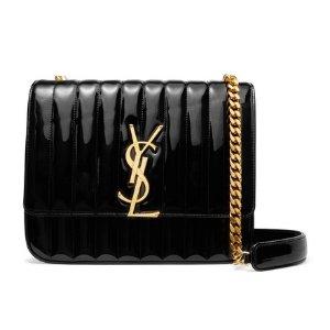 $2,317(原价$3310)Saint Laurent 超可爱百搭Vicky信封包