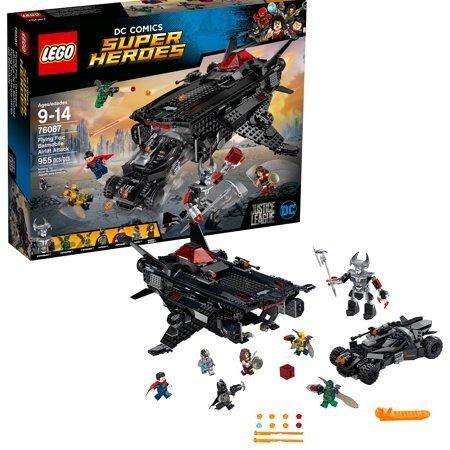 超级英雄系列 狐蝠喷气机蝙蝠战车空运攻击 76087