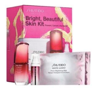 Bright, Beautiful Skin Kit - Shiseido   Sephora
