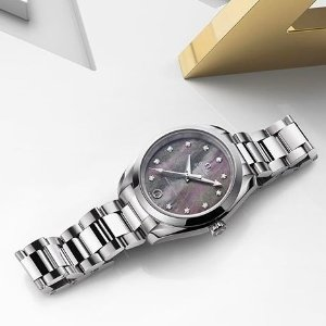 Extra $100 OffDealmoon Exclusive: OMEGA Automatic Mother of Pearl Diamond ladies Watch