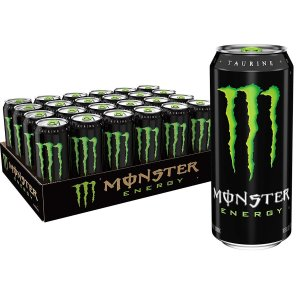 $29.96 一罐只需$1.24Monster Energy 能量饮料 16oz 24罐