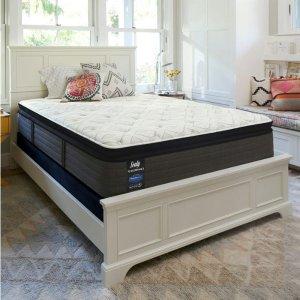 超硬Queen仅$589US Mattress Sealy 丝涟美姿系列记忆棉弹簧床垫