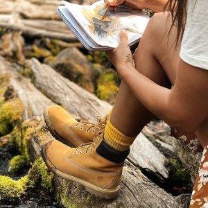 定价优势+低至5折起Timberland 大童款专场大促 收大黄靴、牛津鞋绝佳时机