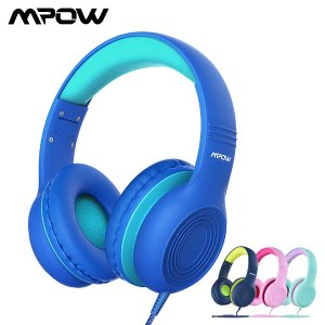 MpowUS $14.14 31% OFF|Mpow CH6 Wired Kids Headphones Foldable Adjustable Wired Headphone With 3.5mm Audio Jack And Microphone For Children For iPod|Headphone/Headset| | - AliExpress