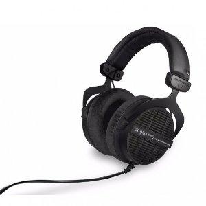 $149.99(原价$199.00) 免税包邮Beyerdynamic DT 990 PRO 250欧姆 开放式头戴耳机 黑色限定版