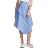Maje Jim Stripe Asymmetrical 半裙
