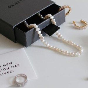 买2赠1 变相6.7折闪购:Objekts 小众高级首饰 气质珍珠、Chic金属风、甜甜糖果