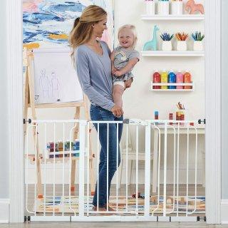 $49.97(原价$79.99)史低价:Regalo Baby 56寸儿童安全门  宝贝安全放第一