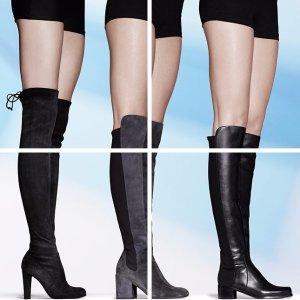 终极对比 大长腿攻略Stuart Weitzman 过膝靴怎么选 到底哪款适合你