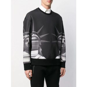Neil BarrettStatue of Liberty print sweatshirt