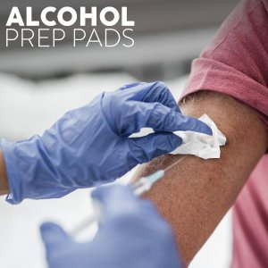As Low As $4.49Alcohol Prep Pads, Thick Alcohol Swabs