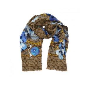 Gucci印花围巾