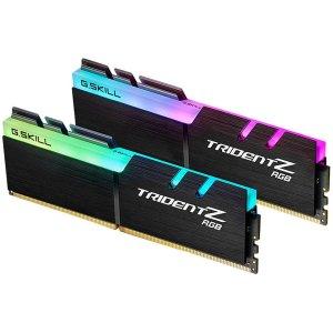 $219.99 b-die真香警告G.SKILL TridentZ RGB 16GB (2 x 8GB) DDR4 3600 C16 套装
