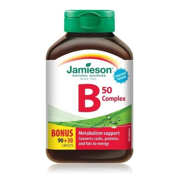 维生素B50 Complex 120粒