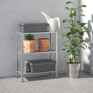 IkeaHYLLIS Shelf unit, indoor/outdoor, 23 5/8x10 5/8x29 1/8