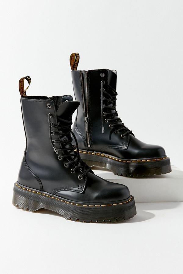 Jadon 网红厚底马丁靴