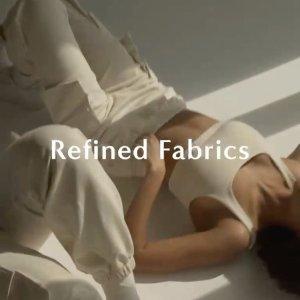 全场无门槛免运费Oak+Fort Refined 环保休闲系列开售 $24收骑行裤
