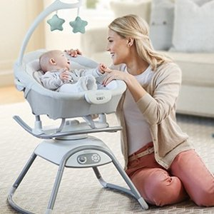 Amazon Graco Duet Glide Gliding Swing with Portable Rocker, Winfield