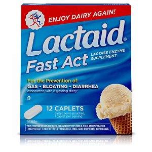$2.14 Lactaid Fast Act Lactose Intolerance Relief Caplets
