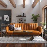 姜黄复古色沙发