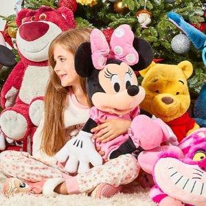 低至5折 中号草莓熊£12.5(原价£21)Disney 公仔热促 赶快抱走草莓熊、辛巴、史迪奇