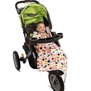 $14.42(原价$34.95)Ah Goo Baby 舒适儿童推车保暖毯