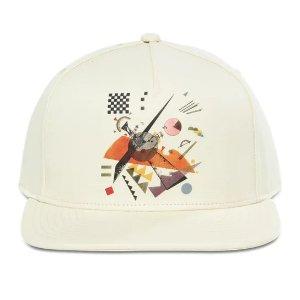 几何图案棒球帽