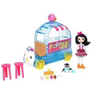 低至2.5折 低至$5.3Enchantimals 儿童娃娃、娃娃屋、小厨房特卖