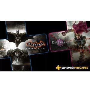 FreePS+ Members: Batman + Darksiders 3