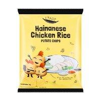 【新加坡网红零食】F.EAST 薯片 海南鸡饭味