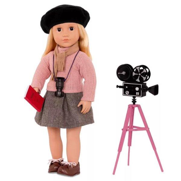 摄影师娃娃配件