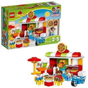 $16.99 (原价$29.99)LEGO乐高 得宝系列比萨店积木 10834