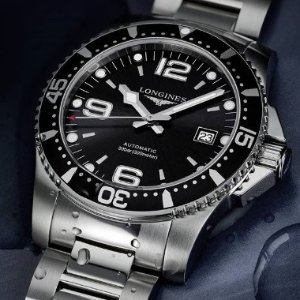 Dealmoon Exclusive:LONGINES HydroConquest Automatic Black Dial Men's Watch