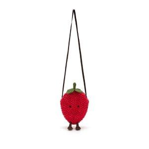 Jellycat小草莓包
