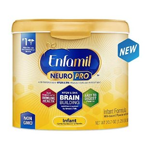 EnfamilNeuroPro Infant Formula - Brain Building Nutrition Inspired by Breast Milk - Reusable Powder Tub, 20.7 oz