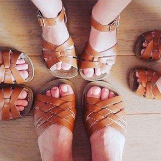 低至6.5折+无税 耐水抗造可机洗Salt Water Sandals 儿童经典复古凉鞋特卖