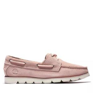 Timberland粉色乐福鞋