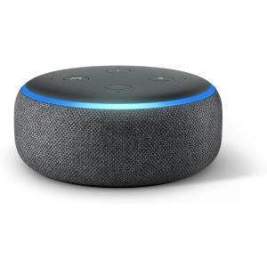 现价£24.99 (原价£49.99)Alexa Echo Dot(3代)近期好价热卖 英亚排名超高的智能家电