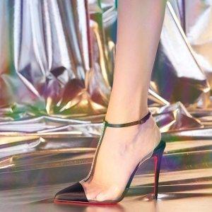 限时免邮 £390收红底运动鞋闪购:Christine Louboutin萝卜丁热卖 最是那勾人的一抹红